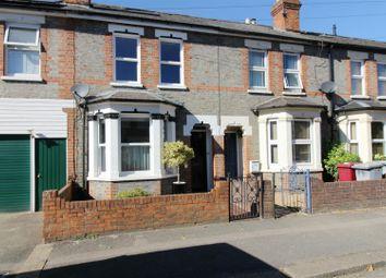 Thumbnail 3 bed terraced house to rent in De Montfort Road, Reading, Berkshire