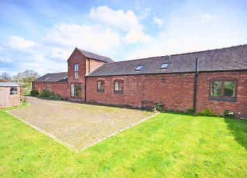 Thumbnail 4 bed detached house for sale in The Byre, Aspley Lane, Chatcull, Near Eccleshall