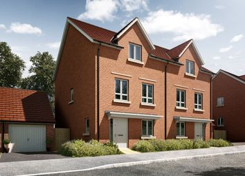 "Thumbnail 3 bed terraced house for sale in ""The Elmdon"" at Radwinter Road, Saffron Walden, Essex, Saffron Walden"