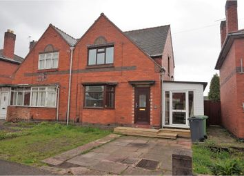 Thumbnail 3 bed semi-detached house for sale in Heathfield Lane West, Wednesbury