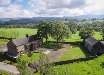 Thumbnail 4 bed farmhouse for sale in Heaton Lowe, Rushton Spencer, Macclesfield