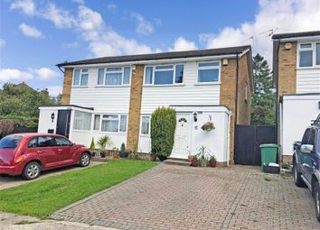 Thumbnail 3 bed semi-detached house for sale in Orchard Way, Lower Kingswood, Tadworth, Surrey