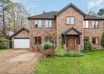 Thumbnail 5 bed detached house for sale in Church Crookham, Fleet