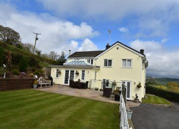 Thumbnail 4 bed detached house for sale in Usk Road, Shirenewton, Chepstow