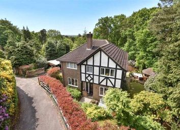 Thumbnail 4 bed detached house for sale in Tekels Avenue, Camberley, Surrey