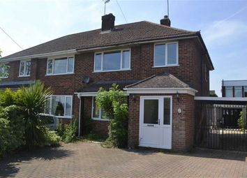 Thumbnail 3 bedroom semi-detached house for sale in Burns Way, Swindon