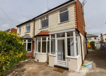 Thumbnail 3 bed semi-detached house for sale in Fernhurst Ave, Blackpool, Lancashire