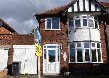Thumbnail 3 bedroom semi-detached house to rent in Wyngate Drive, Western Park, Leicester