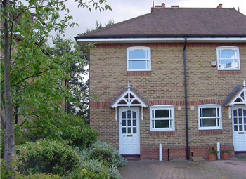 Thumbnail 2 bed semi-detached house to rent in Sixth Cross Road, Twickenham