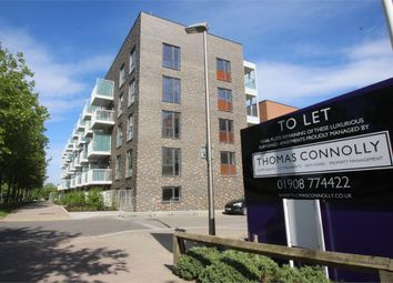 Thumbnail 2 bedroom flat to rent in Lattice Court, 2 Leonora Walk, Campbell Park, Milton Keynes