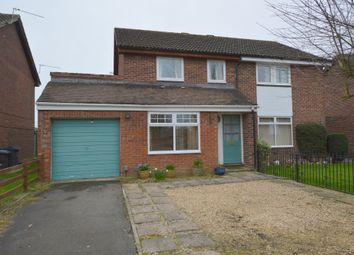 Thumbnail 3 bed semi-detached house for sale in Beverley Close, Bowerhill, Melksham