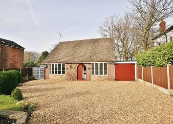Thumbnail 4 bed detached bungalow for sale in Lawton Road, Alsager
