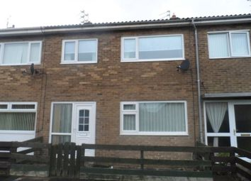 Thumbnail 3 bedroom terraced house for sale in Rochester Close, Ashington