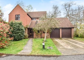Thumbnail 5 bedroom detached house to rent in Meadow Way, Rowledge, Farnham