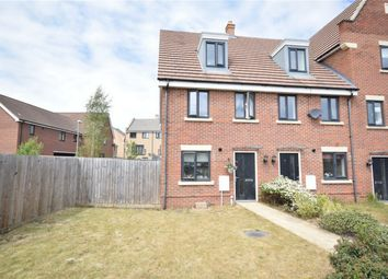 Thumbnail 3 bed end terrace house for sale in Poethlyn Drive, Queens Hill, Norwich