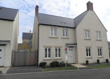 Thumbnail 3 bed property to rent in Flax Crescent, Carterton
