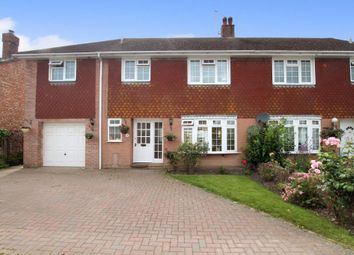 Thumbnail 4 bed semi-detached house for sale in The Laurels, Shroton, Blandford Forum, Dorset
