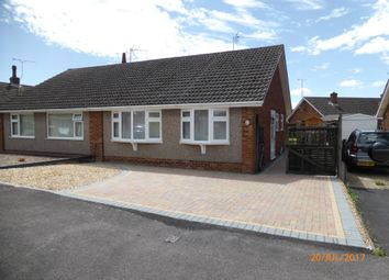 Thumbnail 2 bed semi-detached bungalow to rent in Sandown Road, Bishops Cleeve, Cheltenham