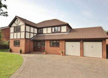 Thumbnail 4 bed detached house for sale in Brancote Road, Oxton, Wirral
