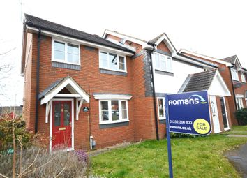 Thumbnail 3 bed end terrace house for sale in Nether Vell-Mead, Church Crookham, Fleet