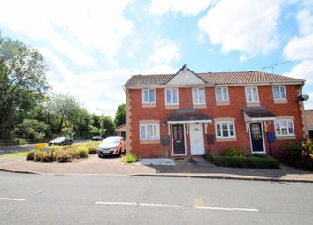 Thumbnail 2 bedroom terraced house for sale in Haselmere Close, Bury St. Edmunds