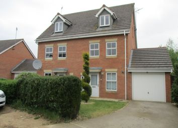 Thumbnail 3 bed detached house to rent in Foxglove Close, Corby