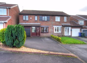 Thumbnail 4 bed semi-detached house for sale in Grosvenor Way, Chapel Park, Newcastle Upon Tyne