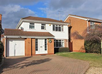 Thumbnail 4 bed detached house for sale in Wakehurst Drive, East Hunsbury, Northampton