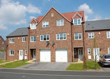 Thumbnail 4 bed terraced house for sale in Ascot Close, Northallerton