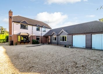 Thumbnail 5 bed detached house for sale in Meadowgate Lane, Wisbech