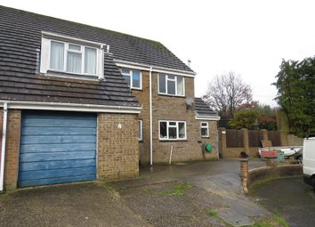 Thumbnail 4 bed semi-detached house for sale in Churchill Close, Alderholt, Fordingbridge