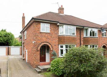 Thumbnail 3 bed semi-detached house for sale in Bonneycroft Lane, Easingwold, York
