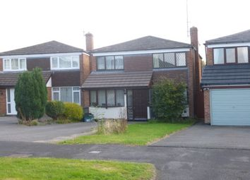 Thumbnail 3 bed detached house to rent in Henley Close, Little Neston, Neston