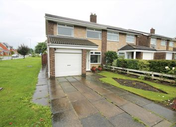 Thumbnail 3 bedroom semi-detached house for sale in Chadderton Drive, Thornaby, Stockton-On-Tees