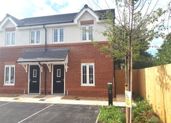 Thumbnail 2 bed semi-detached house for sale in Croxton Lane, Middlewich, Cheshire
