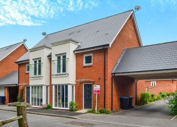 Thumbnail 4 bed semi-detached house for sale in Skylark Way, Burgess Hill
