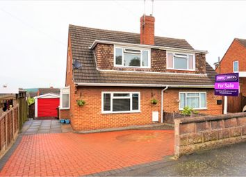 Thumbnail 3 bed semi-detached house for sale in Winchester Drive, Midway, Swadlincote