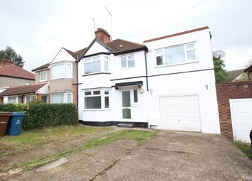 Thumbnail 5 bed semi-detached house to rent in Albany Crescent, Edgware, Middlesex