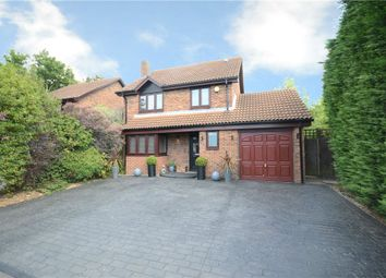 Thumbnail 4 bed detached house for sale in Rockfield Way, College Town, Sandhurst