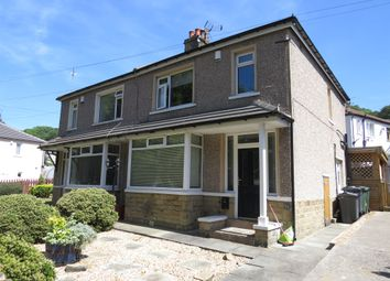 Thumbnail 3 bed semi-detached house for sale in Poplar Crescent, Shipley