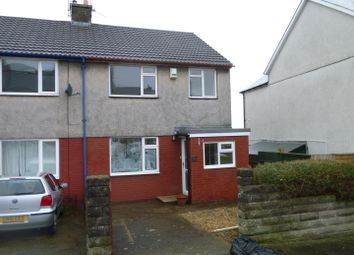 Thumbnail 3 bed link-detached house to rent in Beatrice Road, Barry