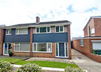 Thumbnail 3 bed semi-detached house for sale in North Dene, Birtley, Chester Le Street