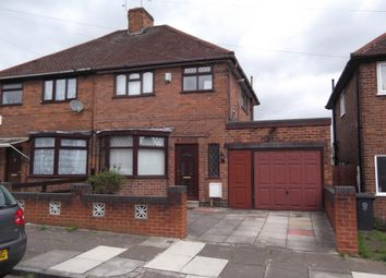 Thumbnail 3 bed semi-detached house to rent in Downham Avenue, Leicester