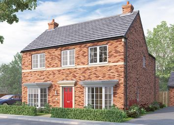 "Thumbnail 4 bed detached house for sale in ""The Tetbury"" at Burton Street, Market Harborough"