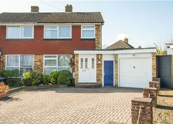 Thumbnail 3 bed semi-detached house for sale in Cromwell Grove, Caterham, Surrey
