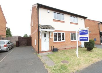Thumbnail 2 bedroom semi-detached house for sale in Bickley Road, Bilston