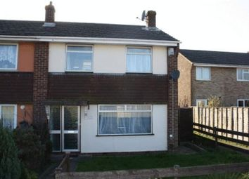 Thumbnail 3 bed end terrace house to rent in Hoylecroft Close, Fareham