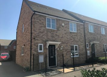 Thumbnail 3 bed end terrace house for sale in Everest Way, Peterborough, Peterborough