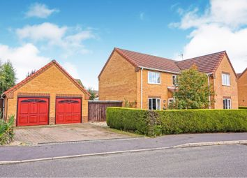Thumbnail 4 bed detached house for sale in Market Rasen Way, Spalding