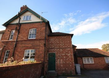 Thumbnail 2 bed flat to rent in Wellington Road, Nantwich